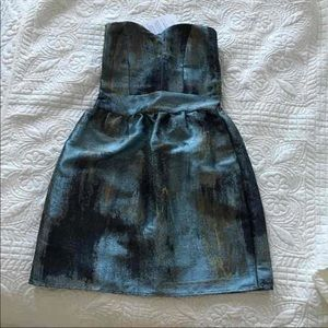 NWT Eight Sixty taffeta dress M
